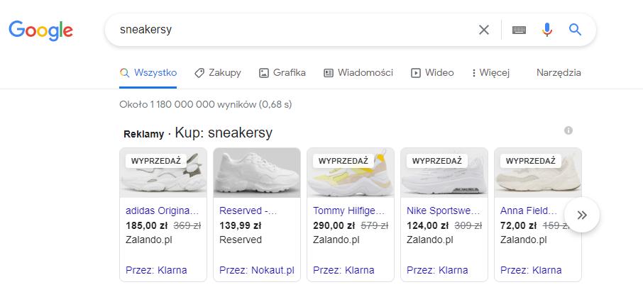 Kampanie Google Ads dla eCommerce